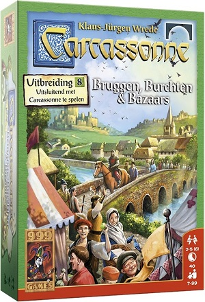 Carcassonne Bruggen, Burchten & Bazaars