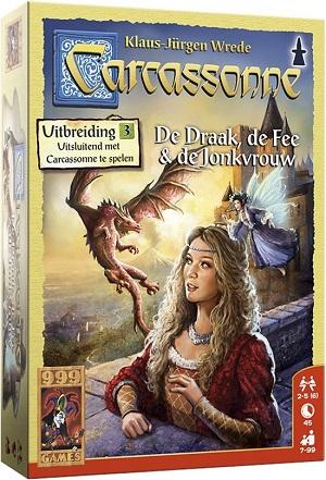 Carcassonne de Draak, de Fee & de Jonkvrouw