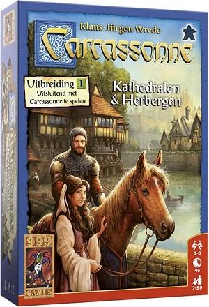 Carcassonne Kathedralen & Herbergen