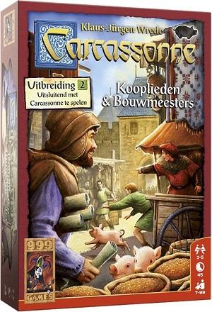 Carcassonne Kooplieden & Bouwmeesters