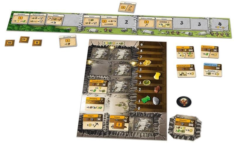 Caverna Het Duel speelbord