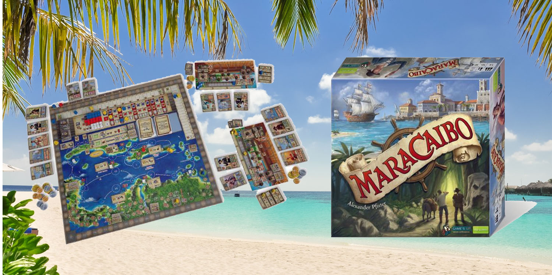 Maracaibo bordspel preview: zeevaarders in de Caraïben