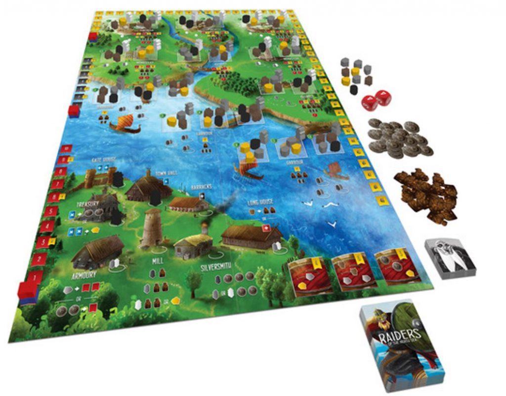 Rovers van de Noordzee speelbord