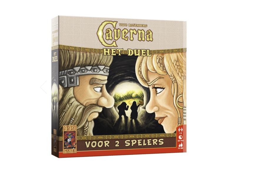 Caverna Het Duel review, topper voor 2 spelers?