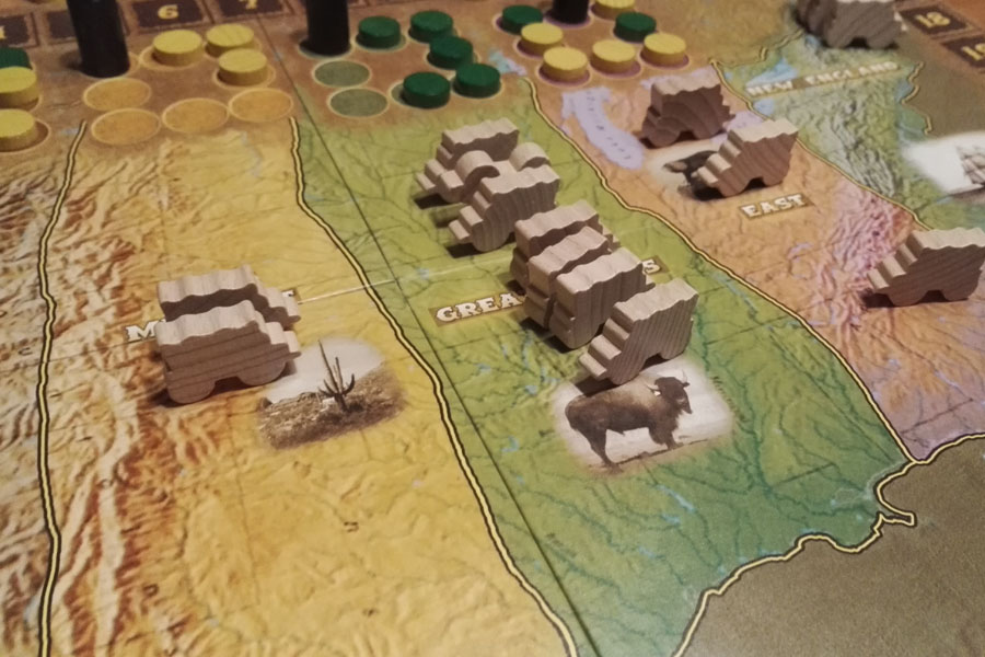 Go West bordspel review