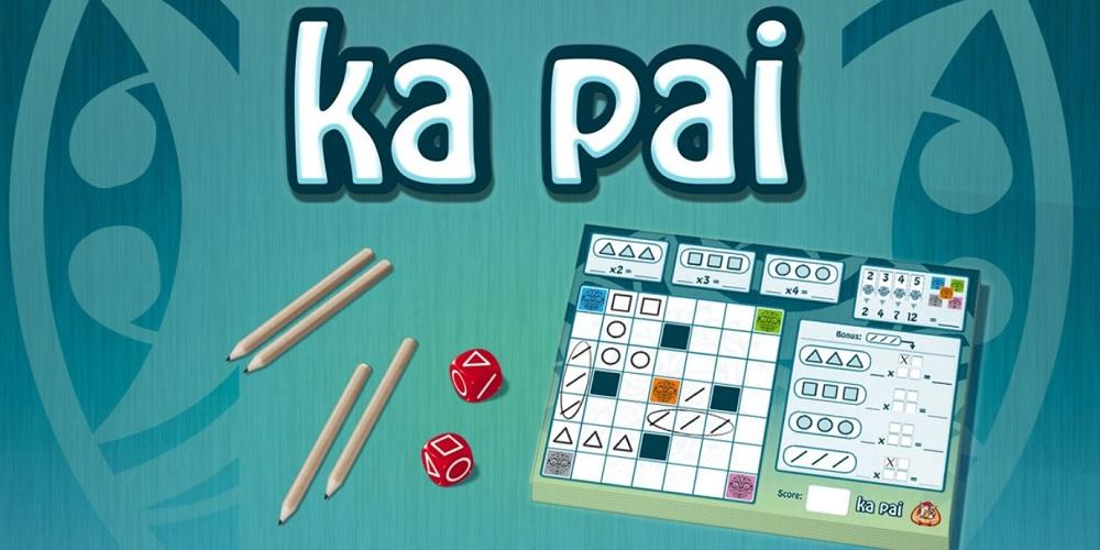 Ka Pai spel review: dobbelspel met lage geluksfactor