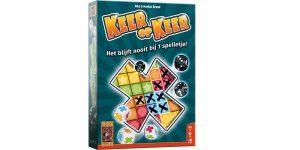 Keer op Keer spel review: tactisch dobbelspel voor iedereen