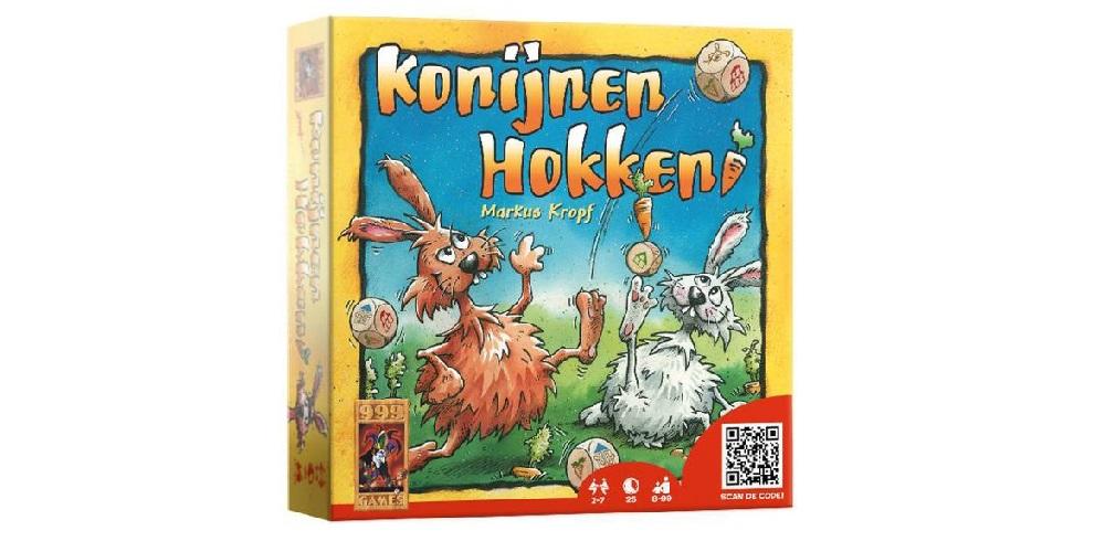 Konijnen Hokken dobbelspel review: stoppen of doorgaan