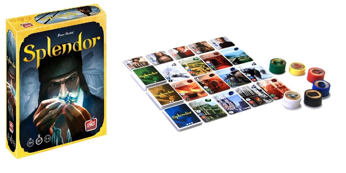 Splendor spel review: als handelaar edelstenen verzamelen