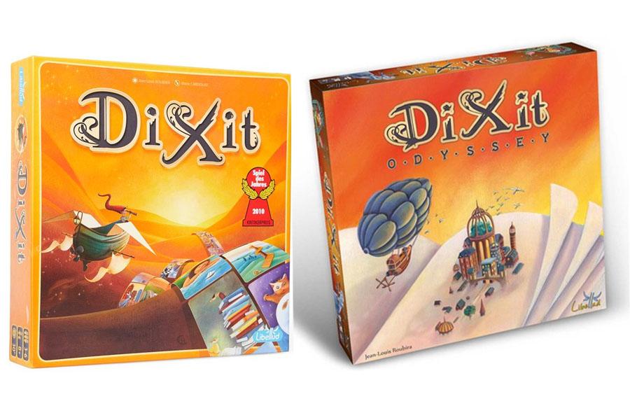 Dixit of Dixit Odyssey: Welk basisspel kies ik?