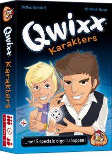 Qwixx uitbreiding Karakters