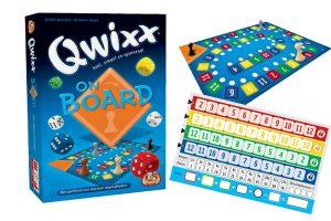 Qwixx On Board: een standalone uitbreiding voor Qwixx!
