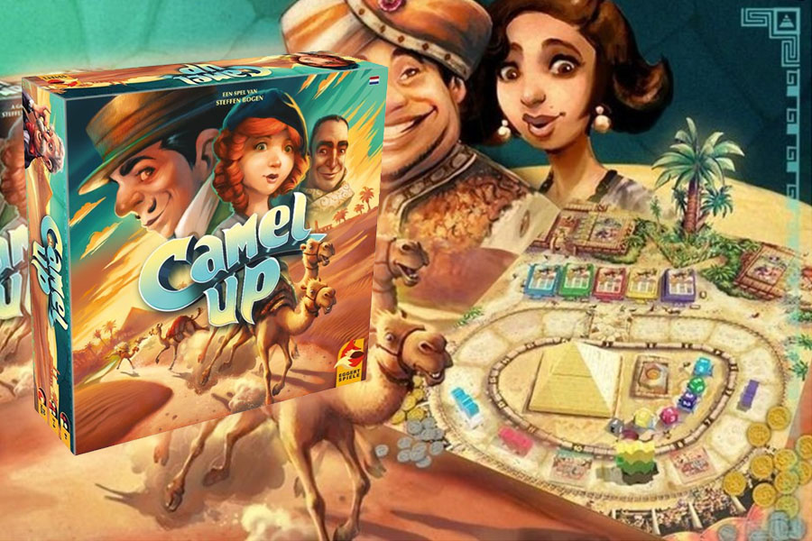 Camel Up review: kamelenrace door de Sahara