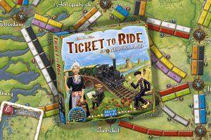 Lees meer over het artikel Ticket to Ride Nederland review: tolbruggen en tolmunten
