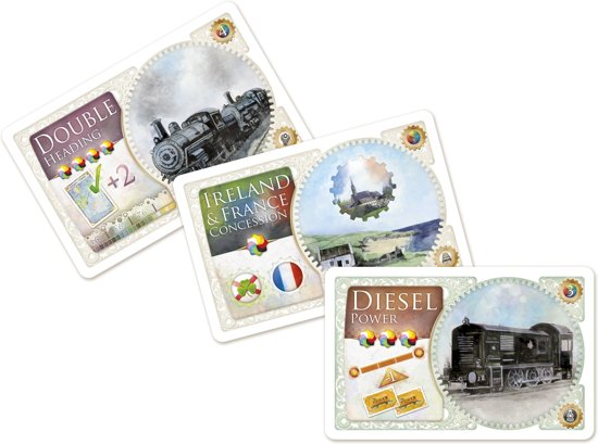 Technologiekaarten Ticket to Ride United Kingdom