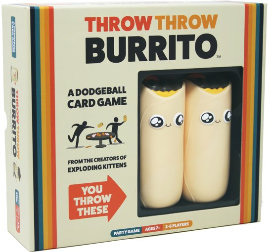 Throw Throw Burrito partyspel
