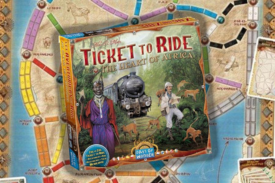 Ticket to Ride Africa uitbreiding review: zeer competitief voor ervaren spelers