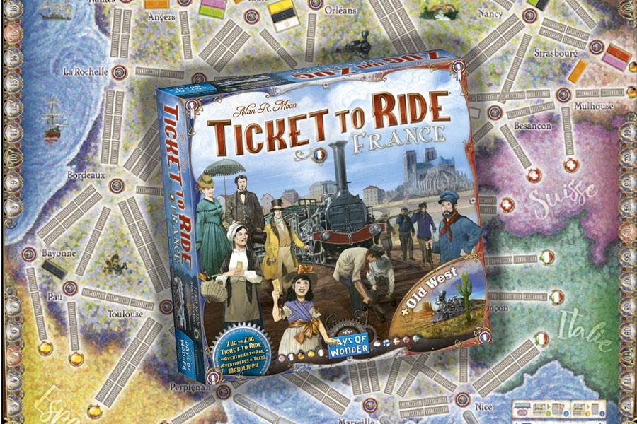Ticket to Ride France & Old West review: tactische mogelijkheden