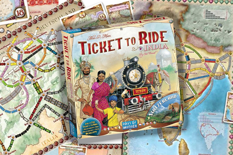 Ticket to Ride India & Switzerland review