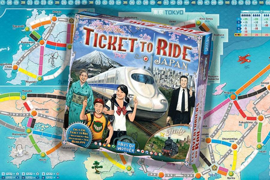Ticket to Ride Japan & Italy review: hogesnelheidstreinen en regio's