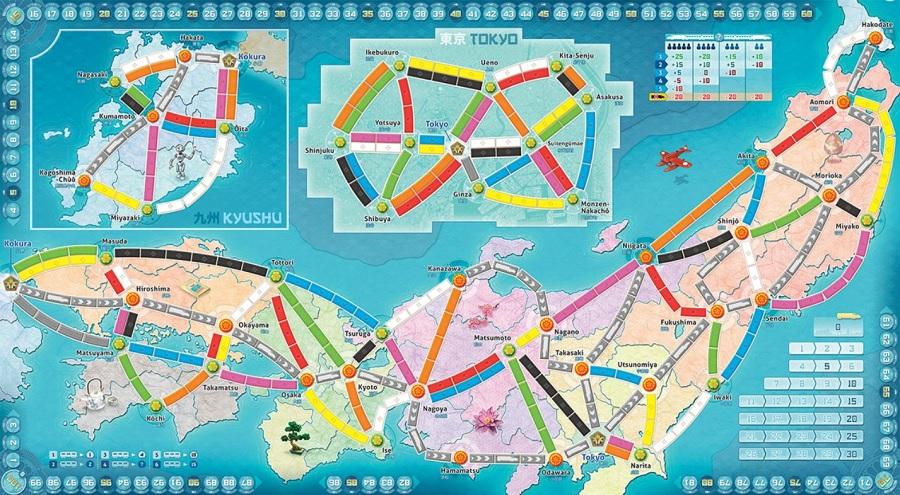 Speelbord Japan