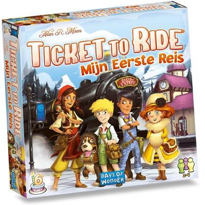 Ticket to Ride Mijn Eerste Reis
