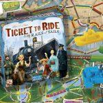 Ticket to Ride Rails & Sails review: expert versie met nieuwe opties