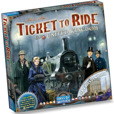 Ticket to Ride UK & Pennsylvania