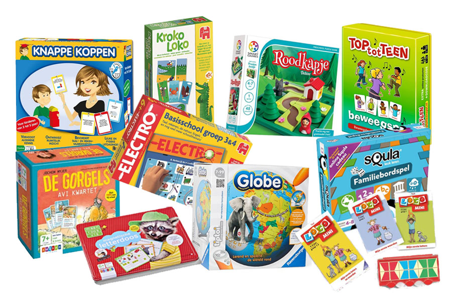 De 10 meest educatieve spellen voor kinderen