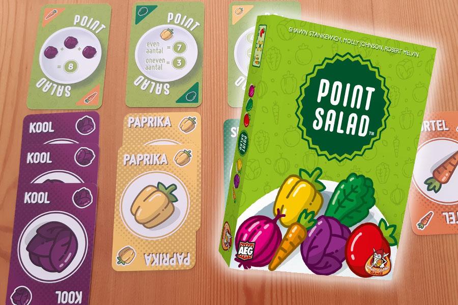 Point Salad kaartspel review: maak de beste salade!