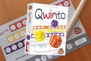 Qwinto dobbelspel review: maak de beste getallenrij!