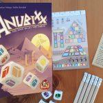 Anubixx dobbelspel review: gebouwen dobbelen in het oude Egypte