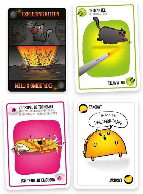 Exploding Kittens: kaarten met humor