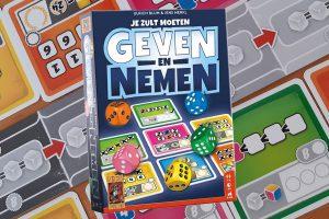 Geven en Nemen dobbelspel review: de nieuwste van 999Games!