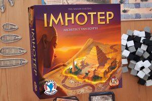 Imhotep spel review: tactisch bordspel voor de hele familie