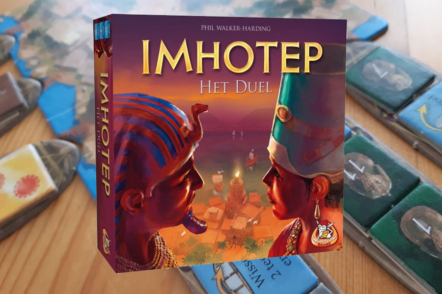 Imhotep Het Duel: Review en speluitleg