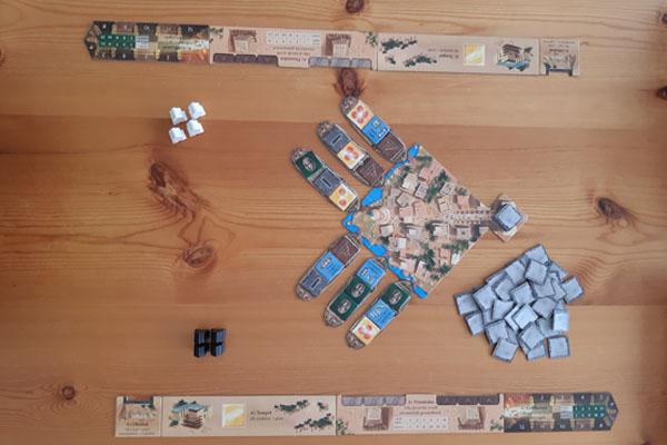 Imhotep Het Duel startopstelling
