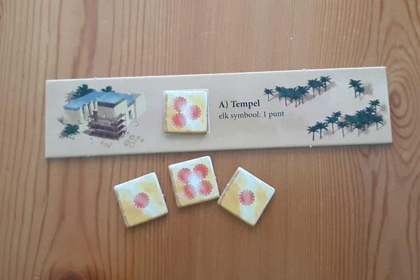 Tempel bouwplaats