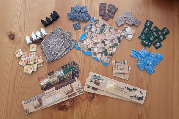 Imhotep Het Duel inhoud van de doos