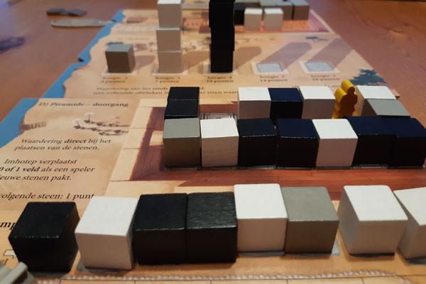 Imhotep piramide - doorgang (C zijde)