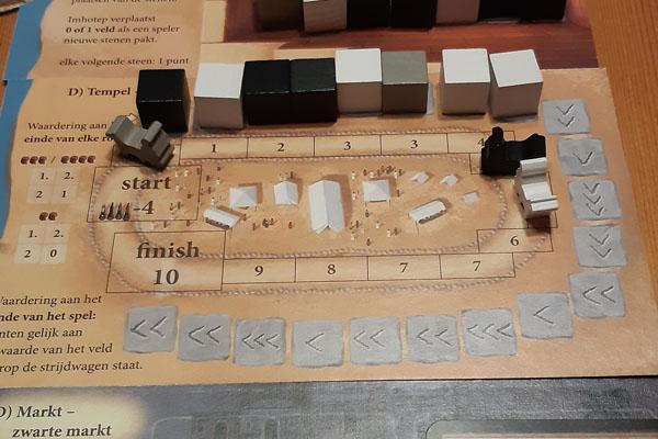 Imhotep Tempel Arena (D zijde)