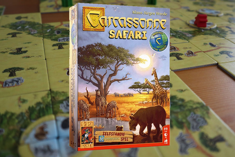 Carcassonne Safari review: standalone versie van Carcassonne