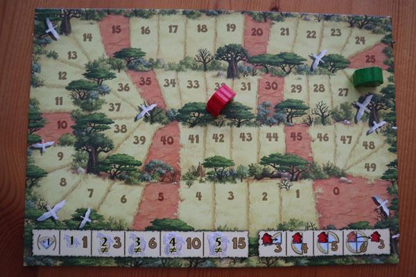 Carcassonne Safari scorebord