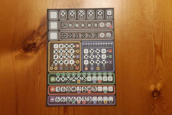 Clever Challenge 1 scoreblad