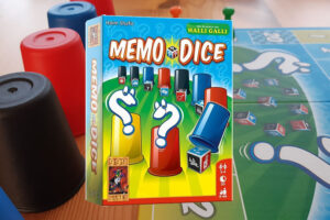 Memo Dice review: Train je geheugen!