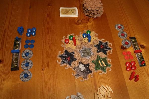Mesopotamië startopstelling voor twee spelers