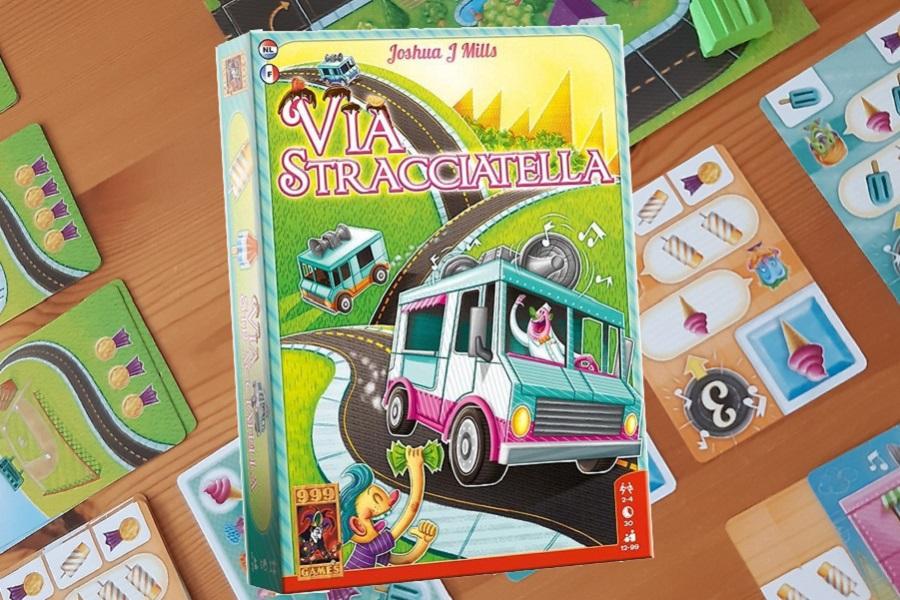Via Stracciatella kaartspel review: Verkoop ijsjes en win medailles!