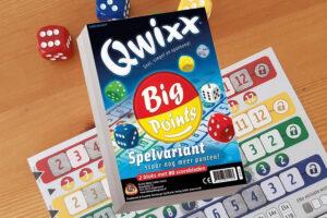 Lees meer over het artikel Qwixx Big Points review: Heel veel punten scoren!