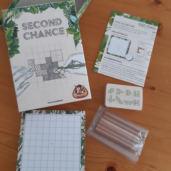 Wat zit er in de doos van Second Chance?