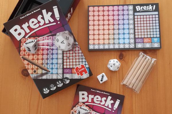 Bresk: inhoud van de doos